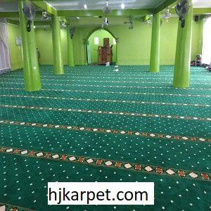 Pemasangan Karpet Masjid Custom Al-Munawwarah Padang