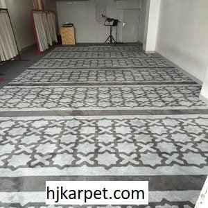 Pemasangan Karpet Masjid Custom Islamic Center Tangerang