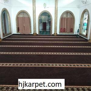 Pemasangan Karpet Masjid Custom Daan Mogot Km23