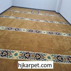 Pemasangan Karpet Masjid Custom Tuban Jawa Timur