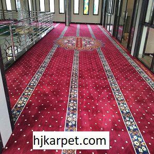 Pemasangan Karpet Masjid Custom Al-Jami Bandung