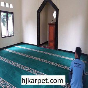 Pemasangan Karpet Masjid Custom Muhammad Cheng Hoo