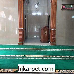Pemasangan Karpet Masjid Custom Al-Futukhat