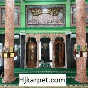 Pemasangan Karpet Masjid Custom Di Baitul Mukmin Cikarang