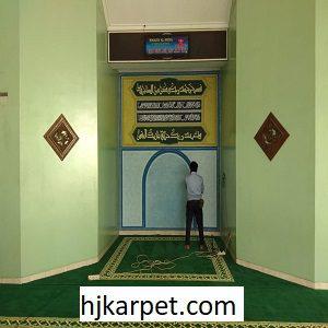 Pemasangan Karpet Masjid Custom AI-Istiqomah