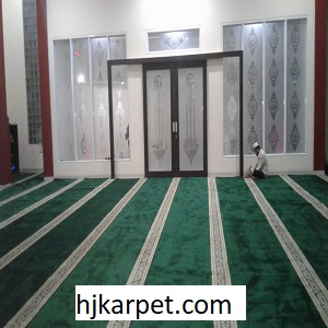 pemasangan Karpet Masjid Custom Jamik Jawa Timur