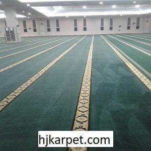 Pemasangan Karpet Masjid Custom Al-Birru Pertiwi