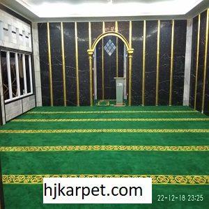 Pemasangan Karpet Masjid Custom Arsilla Bandung