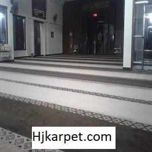 Pemasangan Karpet Masjid Custom Al- Hidayah Bali