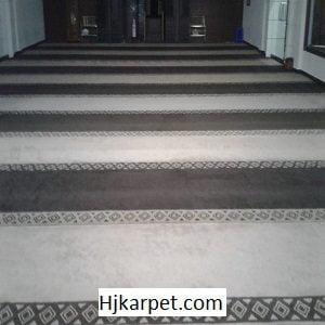 Pemasangan Karpet Masjid Custom Al Hidayah Bali
