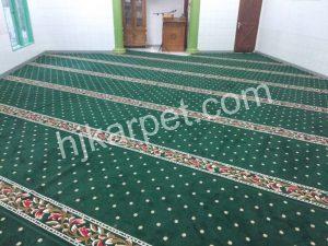 Pemasangan karpet masjid al furqon graha prima bekasi