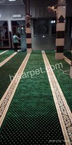 Pemasangan Karpet Masjid Al muhajirin prima harapan regency