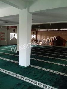 Pemasangan Karpet Masjid Al Hidayah Sarijadi Di Bandung