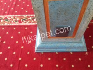 Pemasangan Karpet Masjid Darusalam Sektor V Bekasi