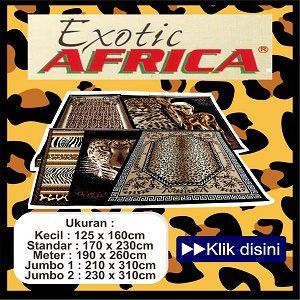 Karpet Permadani Exotic Africa