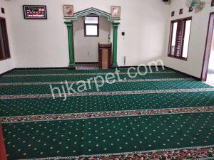 Pemasangan Karpet Masjid Darul Ikhlas Bekasi Utara