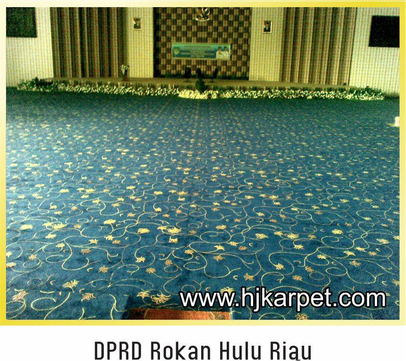 Kantor DPRD Rokan Hulu Riau