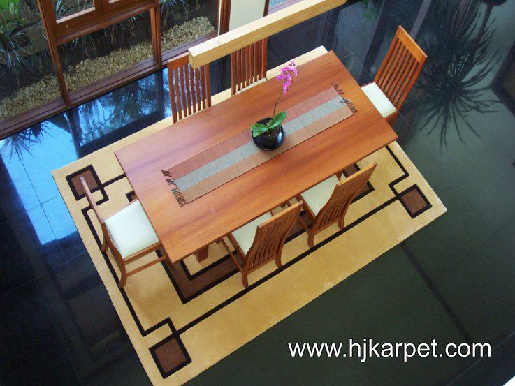 Karpet Custom Rugs Ibu Yuli di Bandung